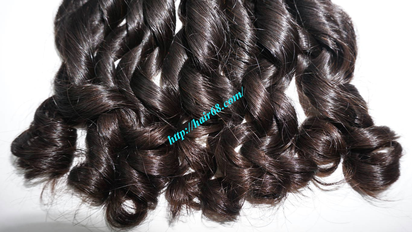 22 inch Loose Curly Hair Weave 3