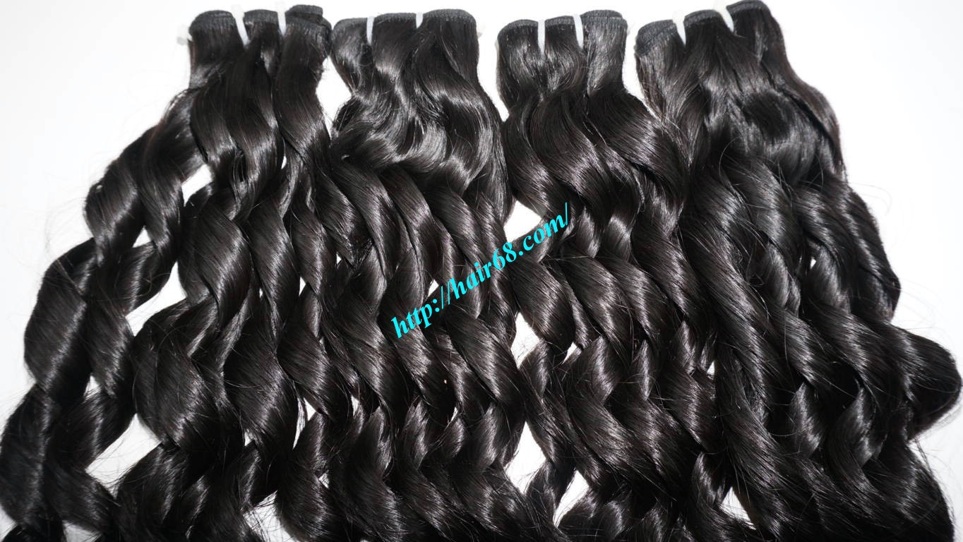 22 inch Loose Curly Hair Weave 4