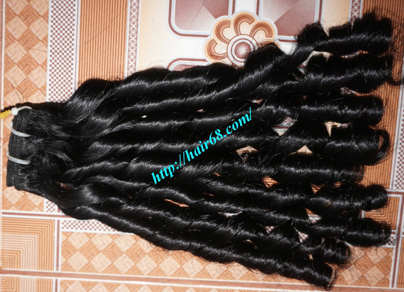 22 inch Loose Curly Hair Weave 8