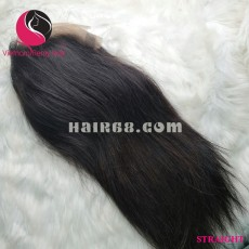 Straight 4x4 lace closure wigs 10 inches 180% Density