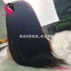 Straight 4x4 lace closure wigs 12 inches 180% Density