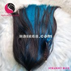 Straight 4x4 lace closure wigs 16 inches 180% Density