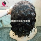 Classic wavy 4x4 lace closure wigs 8 inches 180% Density