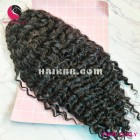 Spiral curls 4x4 lace closure wigs 20 inches 180% Density