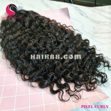 Afro Kinky Curly 2x4 lace closure wigs 26 inches 180% Density