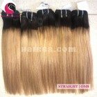 10 inch - Weave Ombre Hair Extensions - Straight Double