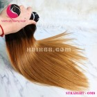 12 inch - Weave Cheap Ombre Hair Extensions - Straight Double