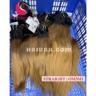16 inch - Weave Ombre Hair Extension- Straight Double