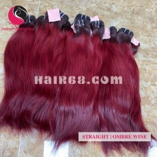 16 inch Remy Hair Weave Extensions - Double Straight