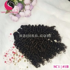 10 inch Remy Curly Weave Extensions – Single Drawn