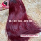 22 inch- Weave Ombre Best Hair Extensions- Single Straight