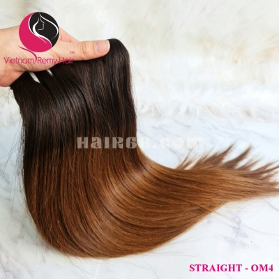 24 inch- Weave Ombre Straight Hair Extension- Straight single