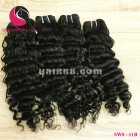 14 inch Remy Hair Weave Extensions - Steam Wavy