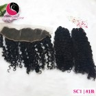 10 inch Cheap Curly Hair Weave Extensions – Double