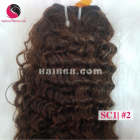 24 inch Cheap Curly Weave Human Hair - Double Drawn