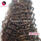 20 inch - Weave Loose Curly Hair Extensions - Double Drawn