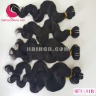 16 inch Weave Remy Hair Extensions - Steam Wavy