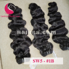 20 inch Remy Hair Weave Extensions - Steam Wavy