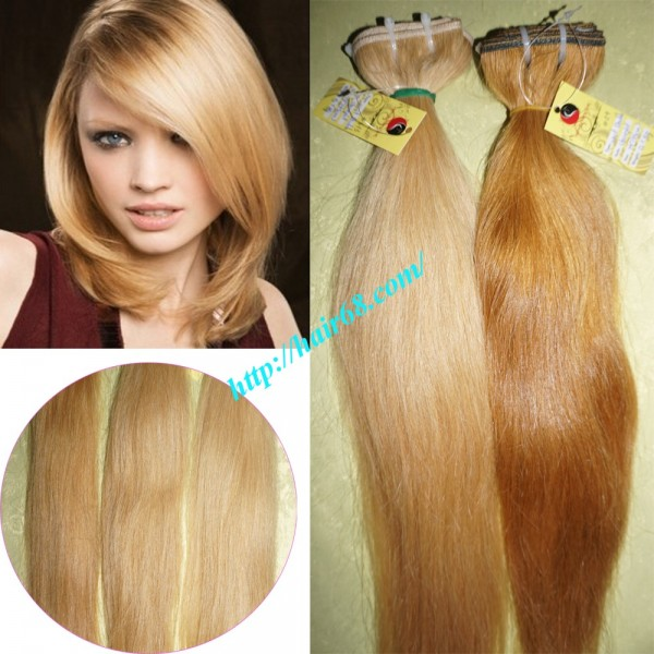 Best blonde weave hair 100 remy human hair 26 inch best blonde weave hair extensions straight pmusecretfo Image collections
