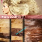 18 inch Straight Blond Weave Hair