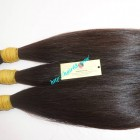 8 inch Cheap Virgin Hair Extensions - Straight Double