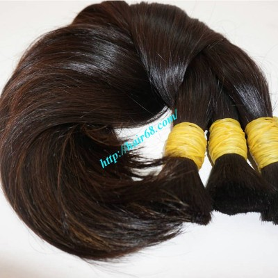 22 inch 100 Virgin Hair Extensions - Straight Single
