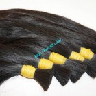 12 inch Real Human Hair Extensions - Thick Straight Double