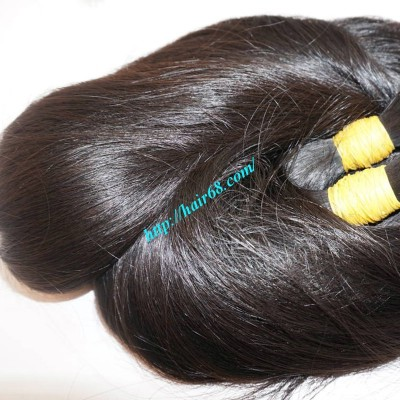 24 inch Hair Extension Online - Thick Straight Double