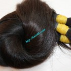 12 inch hair extensions - Thick Straight Single