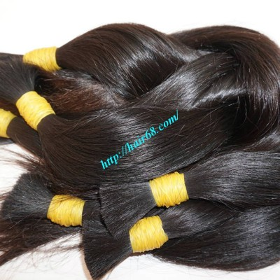 10 inch Good Quality Hair Extensions - Thick Straight Single
