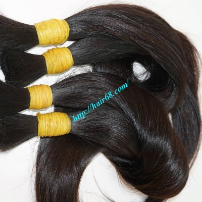 28 inch Best hair Extensions For Thick Hair - Straight Single