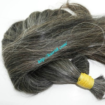 16 inch Grey Hair Extensions Sale - Straight Double