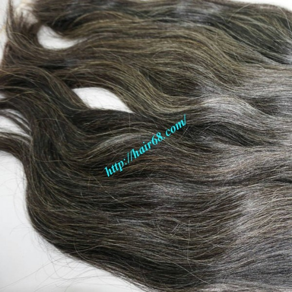 Hair extensions for gray hair 100gbundles high quality 24 inch hair extensions for gray hair straight pmusecretfo Image collections