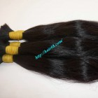 22 inch 100 Unprocessed Virgin Hair - Wavy Single