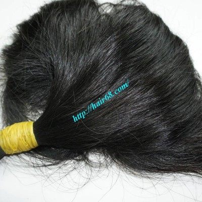 20 inch Human Hair Extensions Wavy - Thick Wavy Double