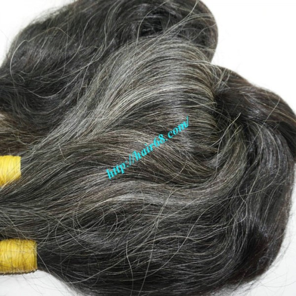 Buy Gray Hair Extensions High Quality Good Price At Vietnam Remy Hair