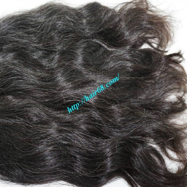 Wholesale natural grey hair extensions online 12 inch natural grey hair extensions wavy double pmusecretfo Choice Image