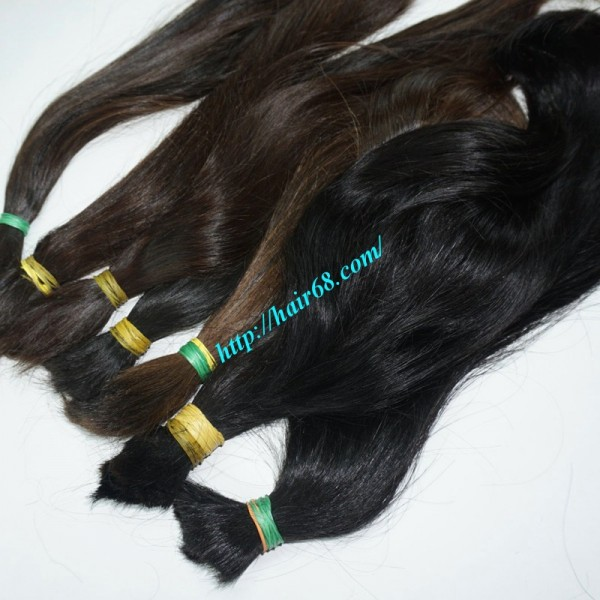 14 Inch Cheap Human Hair Extensions Straight Double Drawn