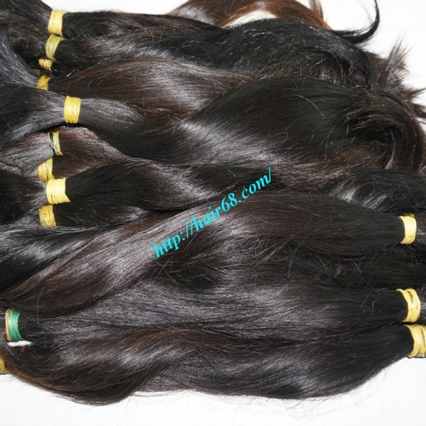 24 Inch Cheap Human Hair Extensions Straight Double Drawn