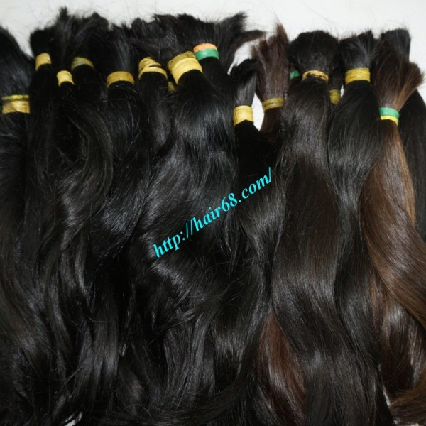 30 Inch Cheap Human Hair Extensions Straight Double Drawn