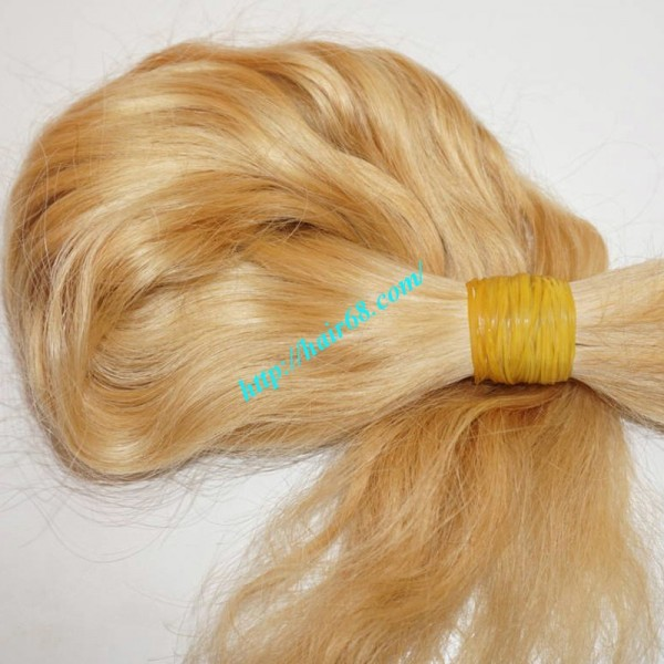 12 Inch Blonde Wavy Hair Extensions