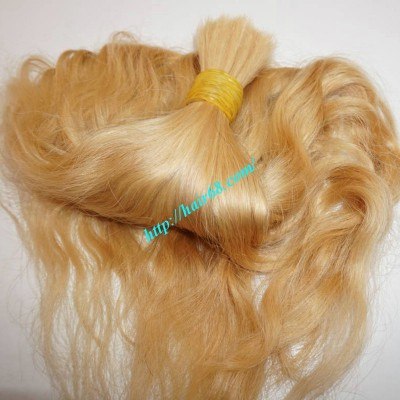 22 inch Cheap Blonde Hair Extensions - Natural Wavy