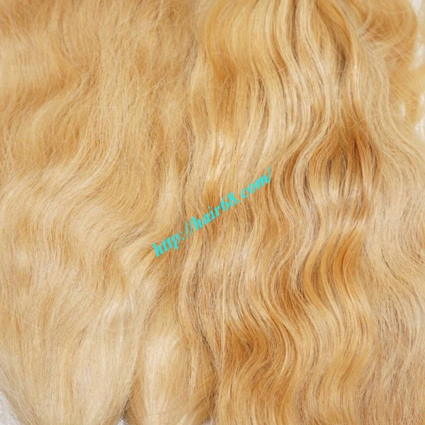 32 Inch Blonde Hair Extensions Vietnamese Hair