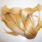 8 inch Cheap Blonde Human Hair Extensions - Straight