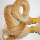 10 inch Cheap Blonde Human Hair Extensions - Straight