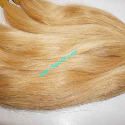18 inch Cheap Blonde Human Hair Extensions - Straight