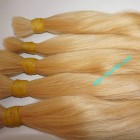 16 inch Cheap Blonde Human Hair Extensions - Straight