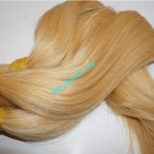 28inch Blonde Human Hair Extensions Cheap - Straight