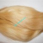 8 inch Blonde Human Hair Straight Remy Hair