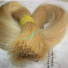 10 inch Blonde Human Hair Straight Remy Hair